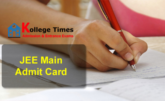 JEE Mains admit Cards 2018 :- Download Here