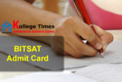 BITSAT Admit card 2018 Download Here