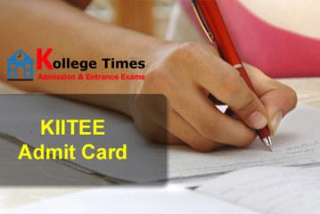 KIITEE admit cards Details 2018 Download Here