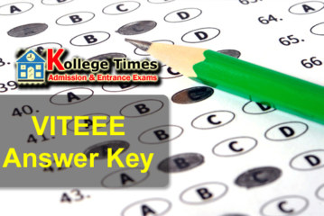 VITEEE Answer keys solutions 2018 :- Check Here