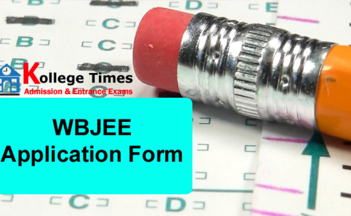 WBJEE Application Form 2018 Engineering and Medical – Apply Here