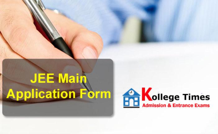 JEE main 2018 Application form   JEE Main Exam :- Apply  Here