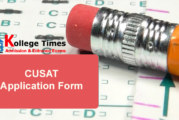 CUSAT 2018 Application Form – Apply Here