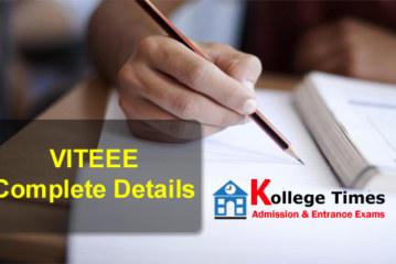 VITEEE 2018   VIT Admission  Application Form Released