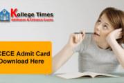 BCECE Admit Card 2018 Download BCECE Hall Ticket