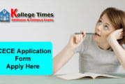BCECE Application Form 2018 Apply Here