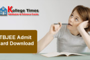 TBJEE 2018 Admit Card and Hall Ticket