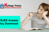 Tripura JEE Answer Key 2018 Download Here