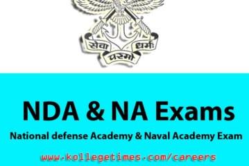 NDA II 2016 Exam Complete details