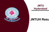 JNTUH Results 2017 | jntuhresults.in