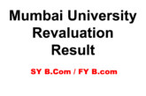 Mumbai University Revaluation Results 2019