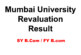 Mumbai University Revaluation Results 2017