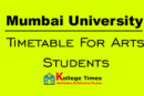 Mumbai University results of Arts students 2018