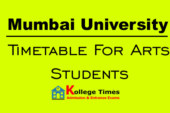 Mumbai University results of Arts students 2018
